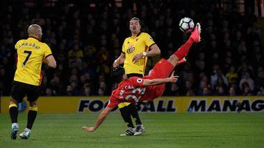 Da Liverpools scoring ble vist, begynte TV 2-profilen bare å le