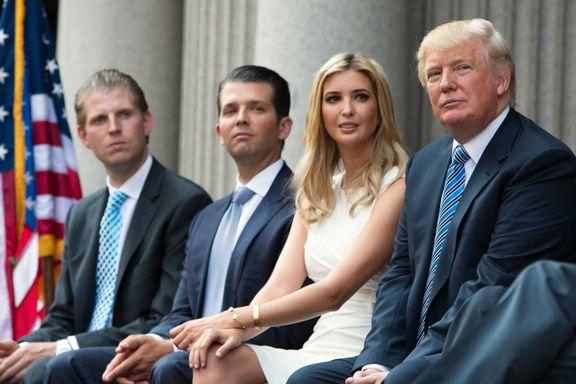 Trumps sønner ba republikanerne støtte den tapende faren. Ellers kunne det få konsekvenser.