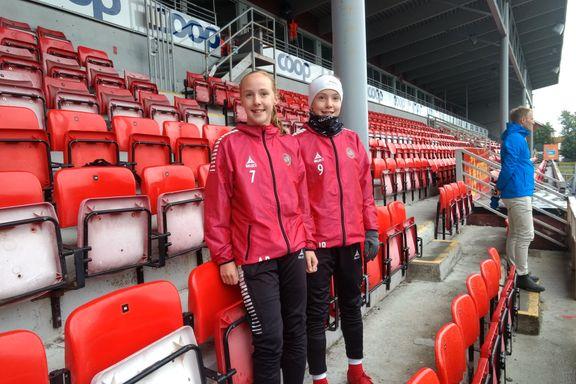 Ina og Andrea terroriserte forsvarsspillerne på Norway Cup:- Håper å spille i Toppserien med TIL