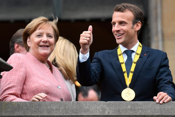 EU enig om å verne Iran-avtalen, sier Merkel