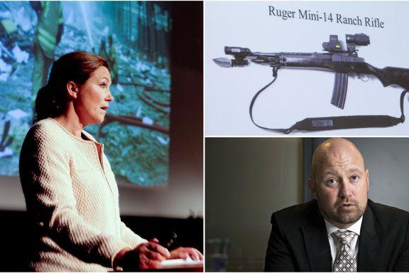 22. juli-kommisjonen ville forby halvautomatiske våpen. Fem år etter terroren er lite skjedd