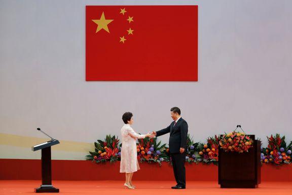 Kinas president hevder Hongkong er friere enn noen gang