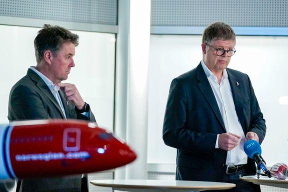 De største leasingselskapene sier nei til Norwegians redningsplan