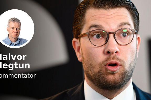 Det måtte et virus til før Sverigedemokraterna ble sluppet inn i den politiske varmen.