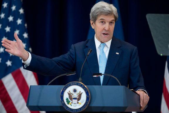 Full ordkrig mellom USA og Israel