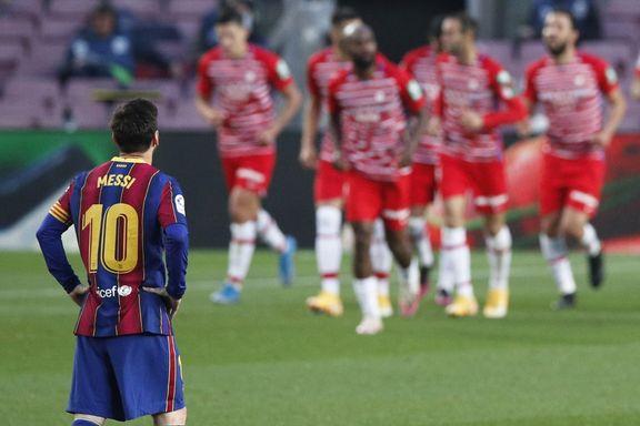 Koeman utvist da Barcelona snublet i gullkampen