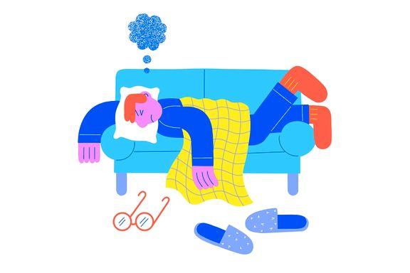 Treåringen krever å sove i foreldrenes seng. Er det greit at pappa blir forvist til sofaen?