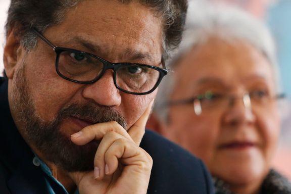 Tidligere FARC-forhandler varsler ny væpnet kamp i Colombia