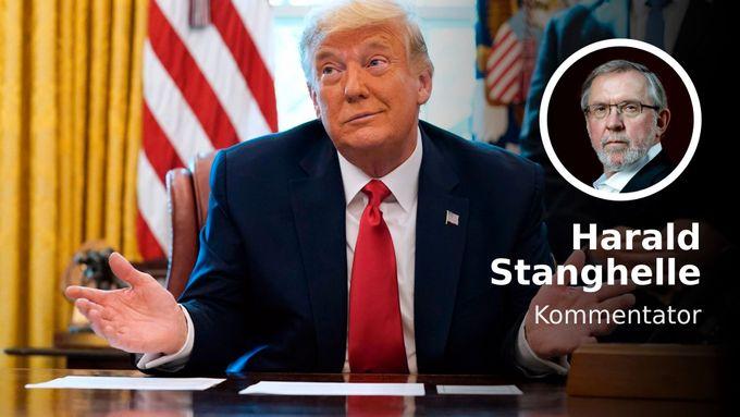 Donald Trumps store seier