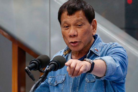 Aftenposten mener: Nytt lavmål av Duterte