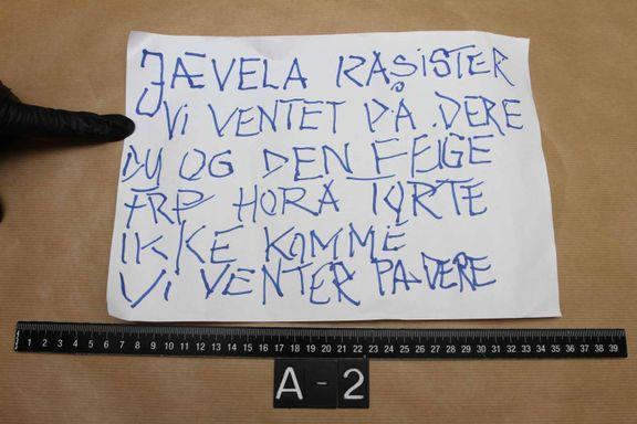 Kripos: Stor sikkerhet for at arket har samme skrifttype som Bertheussen