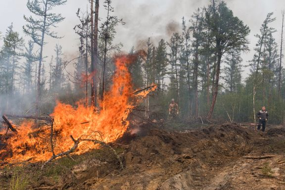Den tørreste sommeren på 150 år i Sibir. Giftig røyk sprer seg fra enorme skogbranner.