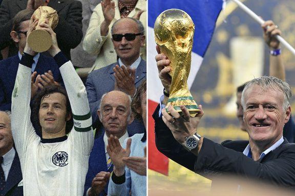 Legende ønsker Deschamps velkommen i eksklusiv klubb: – Det er forbløffende at det skjer så sjelden
