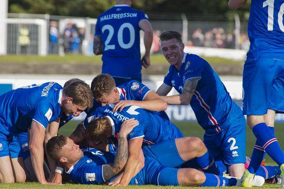 Islands suksess fortsetter: Avgjorde på overtid og nærmer seg VM