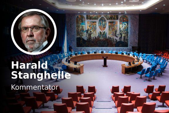 Det er dristig å gå inn til bøllene i Sikkerhetsrådet. Men for Norge er det riktig.