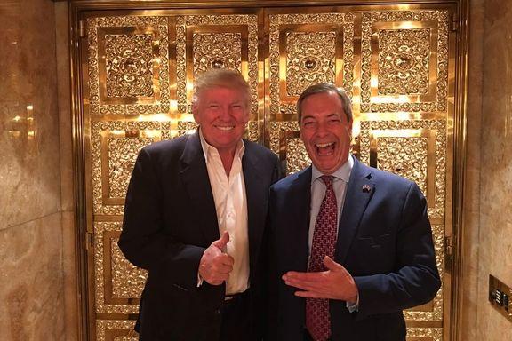 Trump vil ha Brexit-generalen som ny USA-ambassadør