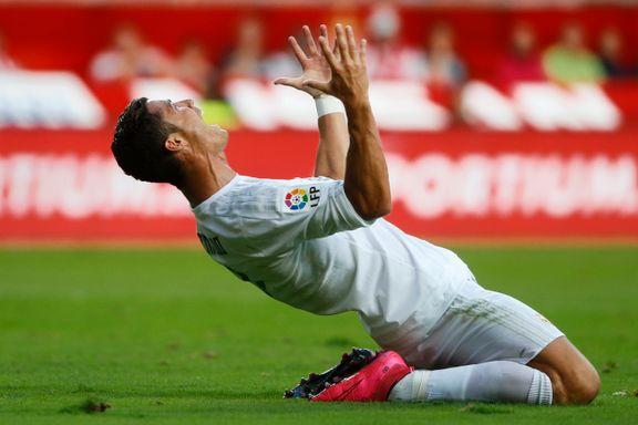 Her brøler Ronaldo ut i frustrasjon - fiasko i serieåpningen