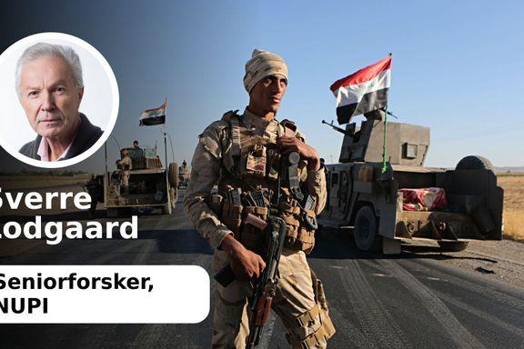 Kurdisk blåmandag - Kurdistan kan bli delt i to   Sverre Lodgaard