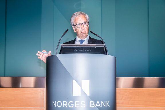 Norges Bank holder renten på null som ventet