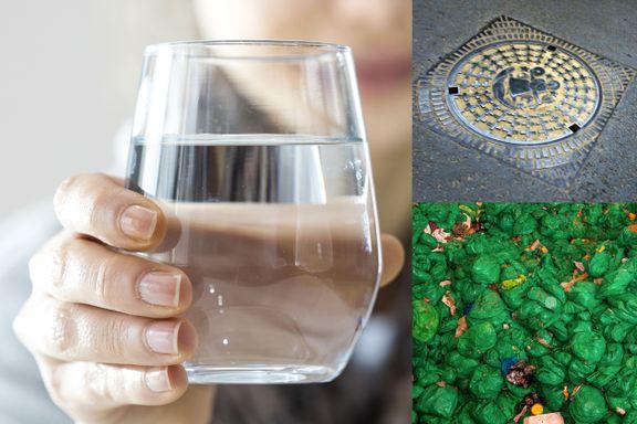 Høyere avgift på vann, kloakk og søppel. Slik påvirkes din lommebok.