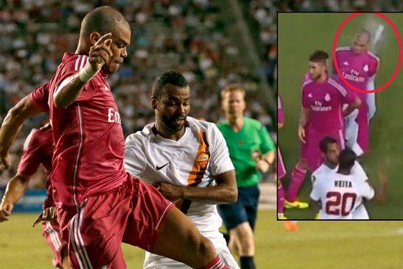 Tidligere Barcelona-profil kastet flaske etter Real Madrid-stjerne