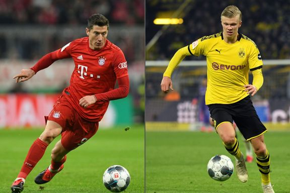 Van Basten om Haaland mot Lewandowski: – Jeg tror han er enda bedre