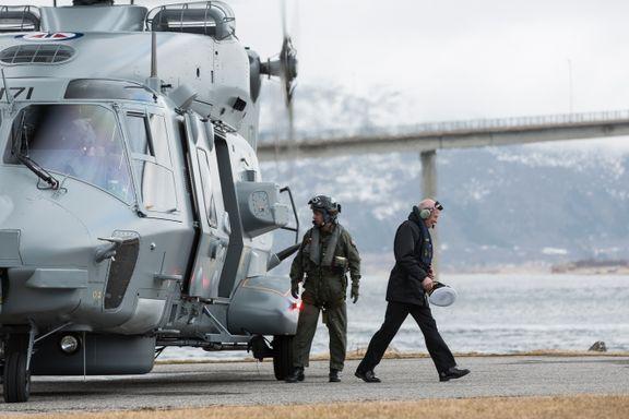 Forsvarssjefen vil frata Kystvakten skandalehelikopteret NH90