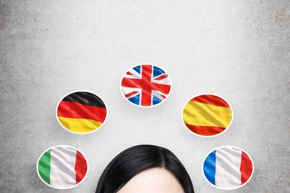 Innsatsen for fremmedspråk må være nasjonal | Olsen og Ottersen