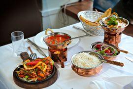 Dette er et av de svakeste indiske måltidene vi har spist på lenge
