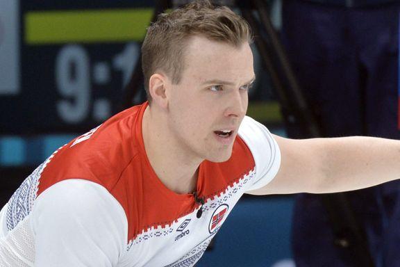 To strake tap for Norge i curling-VM