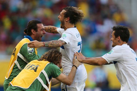 Italia tok bronse etter straffespark
