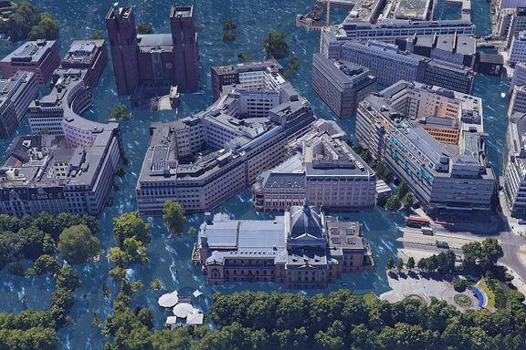 Slik vil Oslo se ut hvis kloden blir tre grader varmere