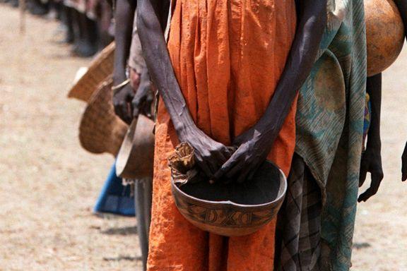 Flyktninghjelpen advarer om sultkatastrofe i Sør-Sudan