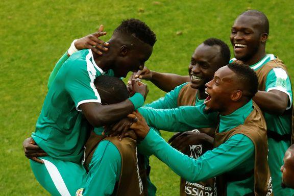Endelig VM-jubel for Afrika