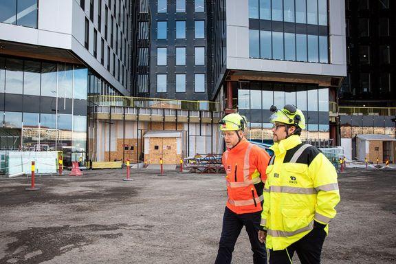 Skriver ny kontrakt i krisetid: – Stenger byggeplassene, er det rett på Nav for veldig mange
