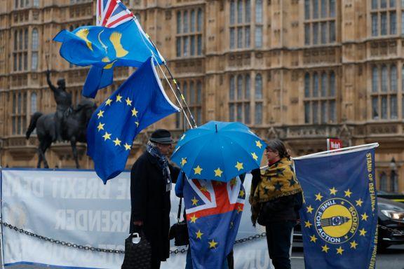 EU-parlamentet går videre med brexitavtalen Storbritannia har avvist