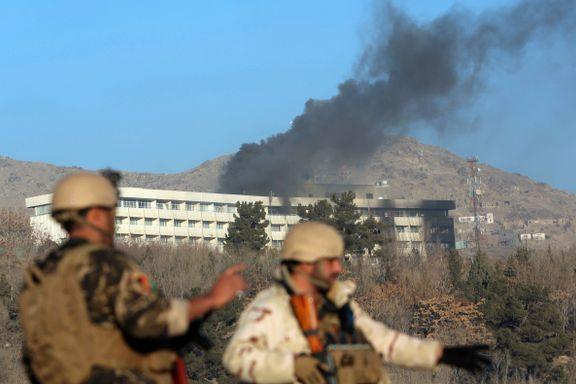 SISTE: 18 bekreftet drept i Kabul -nordmann skal få medisinsk behandling