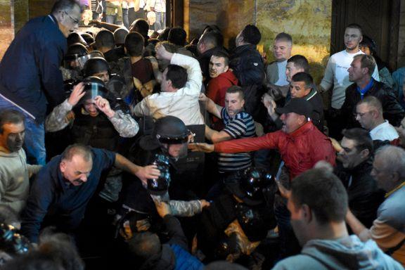 Politisk krise i Makedonia - Russland anklager EU for innblanding