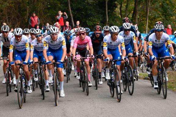Tratnik sterkest på kupert Giro-etappe