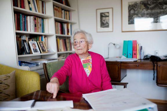 Store forskjeller innad i Oslo: Ingjerd Johnson (92) får ikke sykehjemsplass