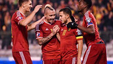 Belgias EM-tropp er klar: Eden Hazard blir kaptein