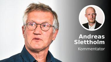 Kanskje vi skal høre litt på Anders Tegnell nå?