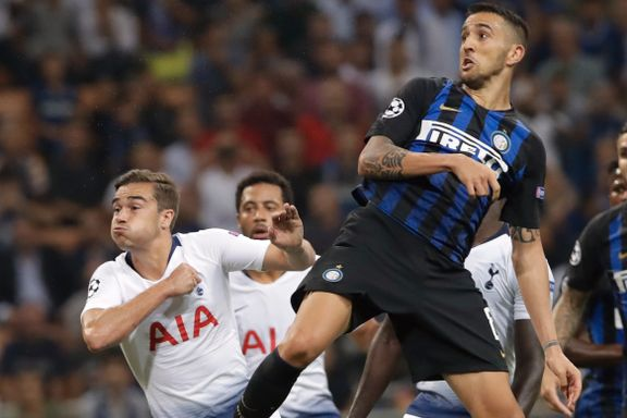 Tottenham kollapset i Milano