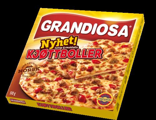 Tidenes frossenpizzasalg for Orkla. I fjor spiste vi 50 millioner av folkefavoritten