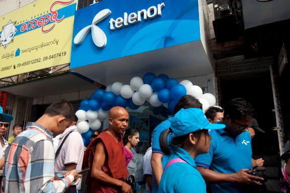 Telenor setter sine Myanmar-kunder i stor fare