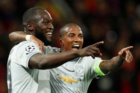 Lekestue i Moskva: Romelu Lukaku pøser inn mål for Manchester United