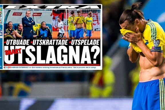 Sverige-spillerne pepet ut og latterliggjort etter ydmykelse: - Det verste jeg har sett