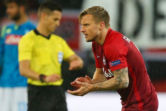 Gulbrandsen scoret da Salzburg røk ut av Europa League