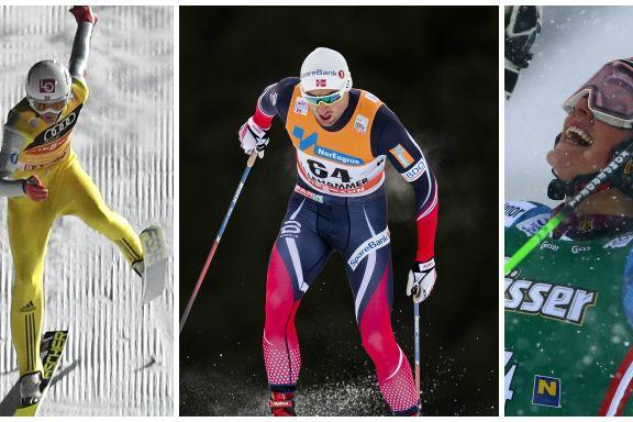 Slik blir sportshelgen på tv: Northug gjør comeback, langløp i redusert Marcialonga-løype og fartsfest i Garmisch