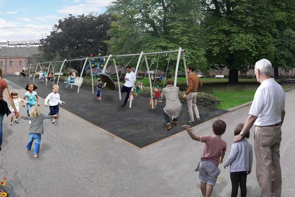 Til sommeren åpner Oslos dyreste lekeplass